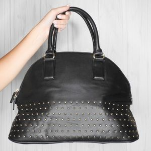 EXPRESS Faux Leather Bowling Bag